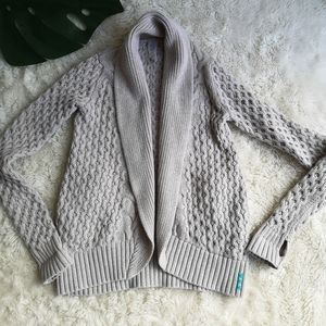 Ivivva cable knit Cardigan